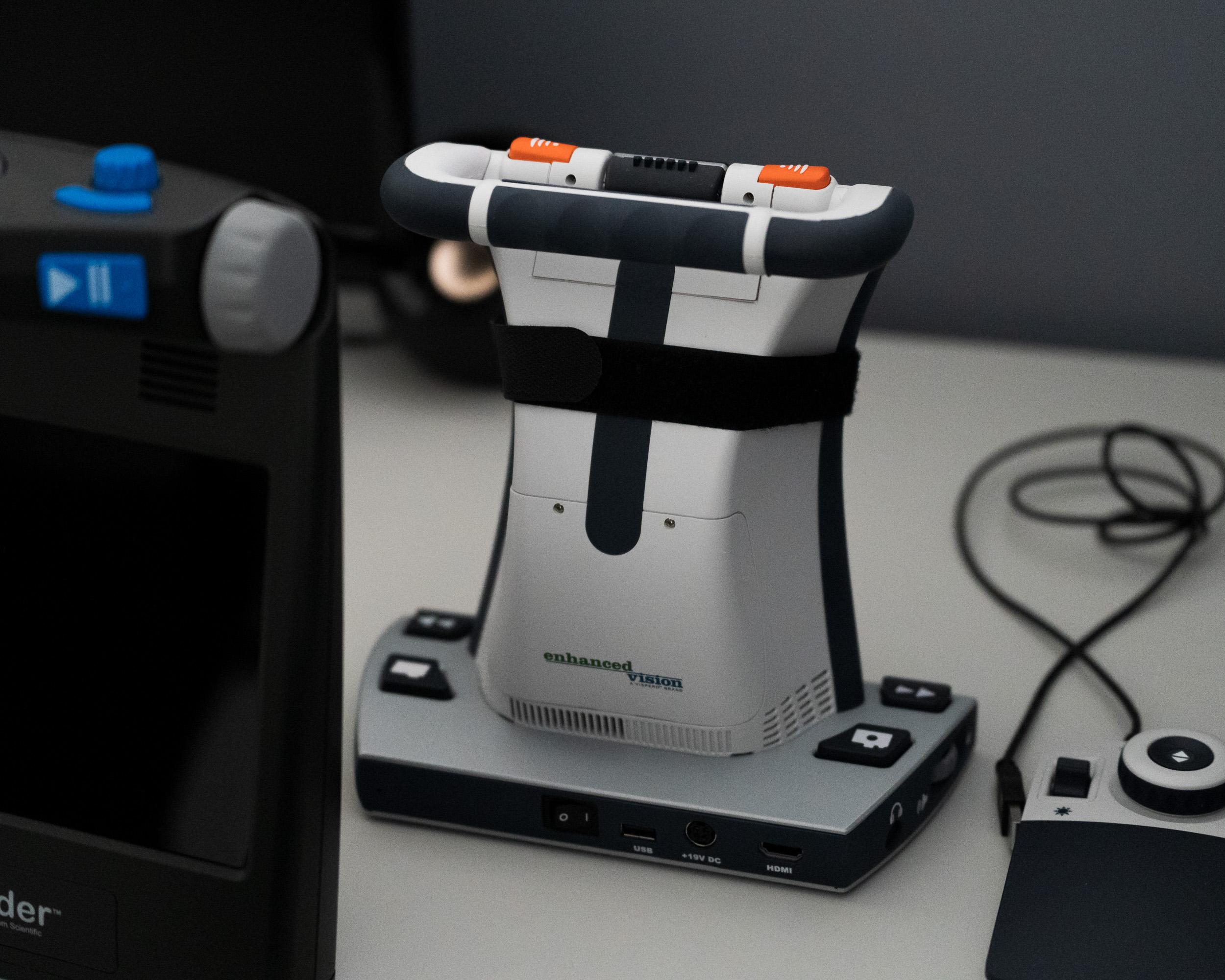 Machinery inside a lab